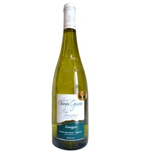 """6 bouteilles de vin blanc de Touraine """"Sauvignon"""" 2019 Liger d'Or"""