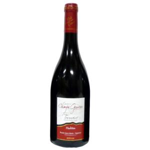 """6 bouteilles de vin de Touraine Rouge """"Tradition"""" 2018"""