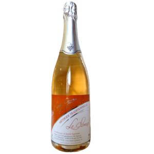 6 bouteilles de vin pétillant rosé